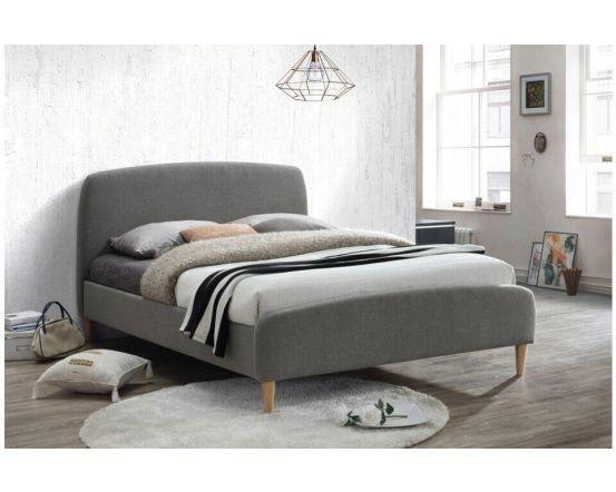 Quebec Grey Upholstered Bed Frames