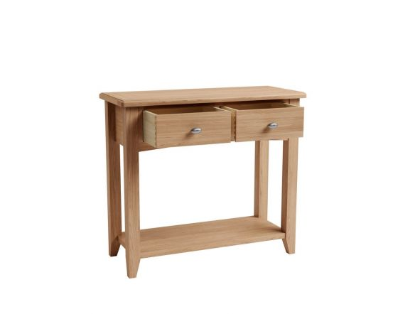 Richtown Oak Console Table