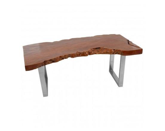 Shakir Longon Wood Coffee Table