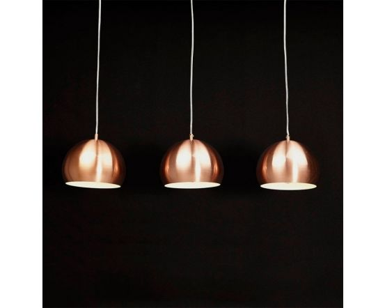 Milly Trio Hanging Dome Ceiling Lamps