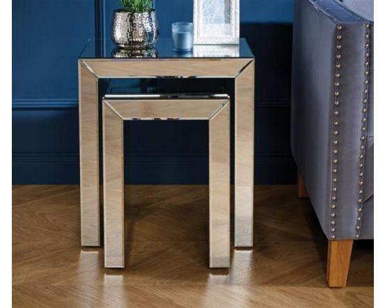 Turia Mirror Nest of Tables