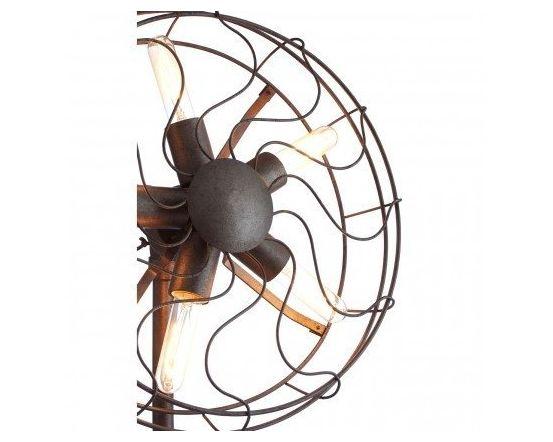 Vintage Fan Shape Ceiling Light