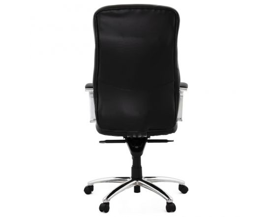 Viveka Black Faux Leather Executive Office Chair
