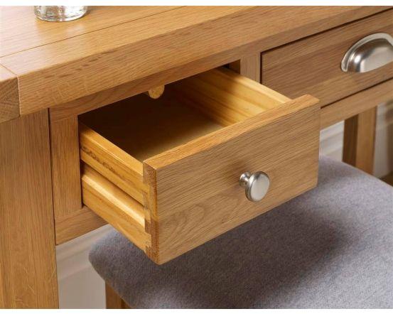 Woburn Oak Dressing Table
