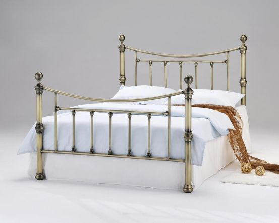 Yasmine Antique Brass Bed Frame