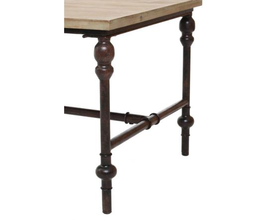 Industrial Fir Wood Coffee Table