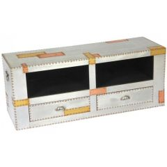 Russell Industrial Patch Aluminium and Copper TV Unit