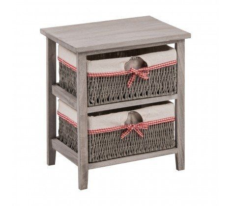 2 Woven Basket Cotswold Drawer Chest