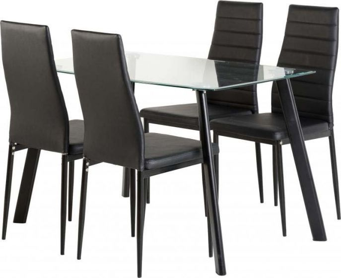 Abbey 47 Inch Dining Table Set