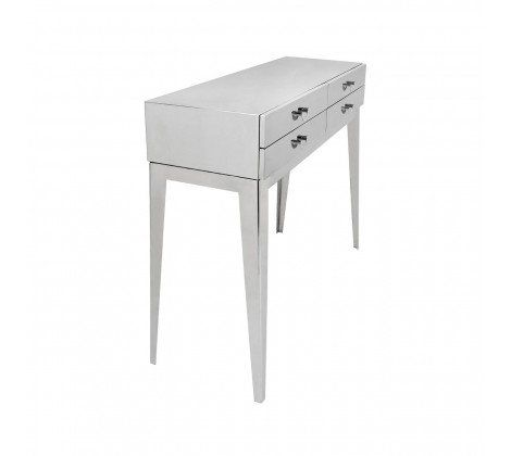 Allure Stainless Steel Console Table