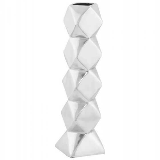 Aluminium Pebble Narrow Vase