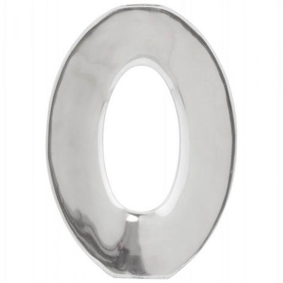 Aluminium Vase Large Oval Design