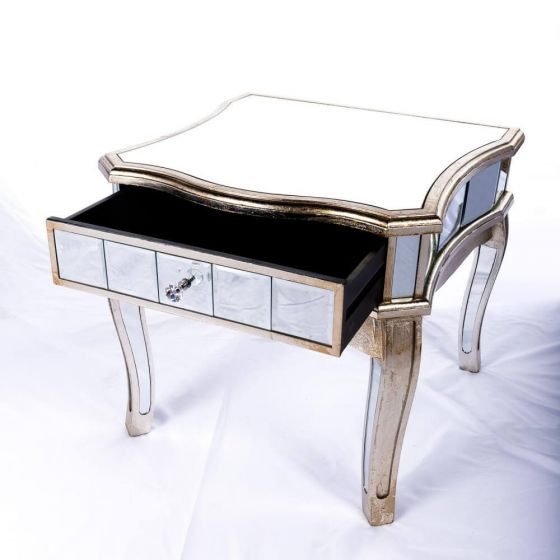 Antonia Shabby Low End Table