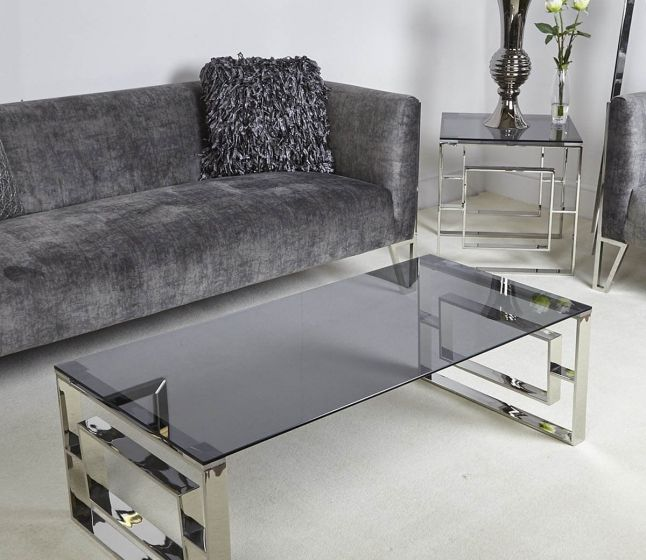 Apex Stainless Steel Coffee Table