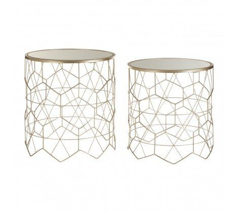 Arcana Geometric Set of 2 Tables