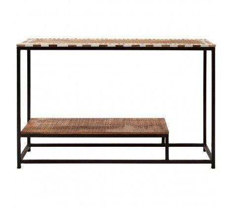 Artisan Mango Wood Console Table