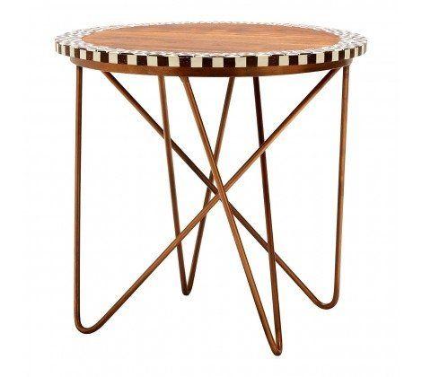 Artisan Round Acacia Side Table