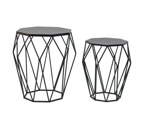 Avantis Black Metal Tables