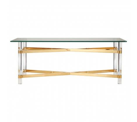 Bianco Glass Top Coffee Table