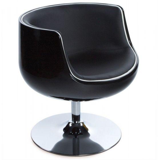 Vela Half Chairs - Black