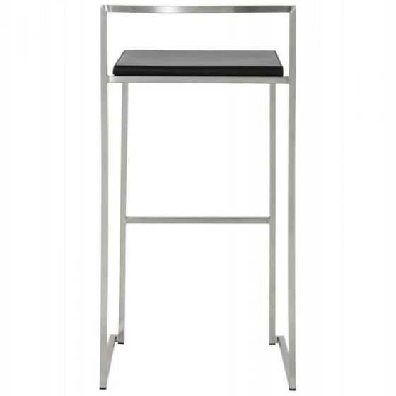 Resta Retro Bar Stool - Black