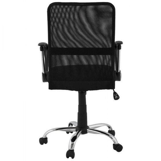 Tiffany Black Support Computer Chair