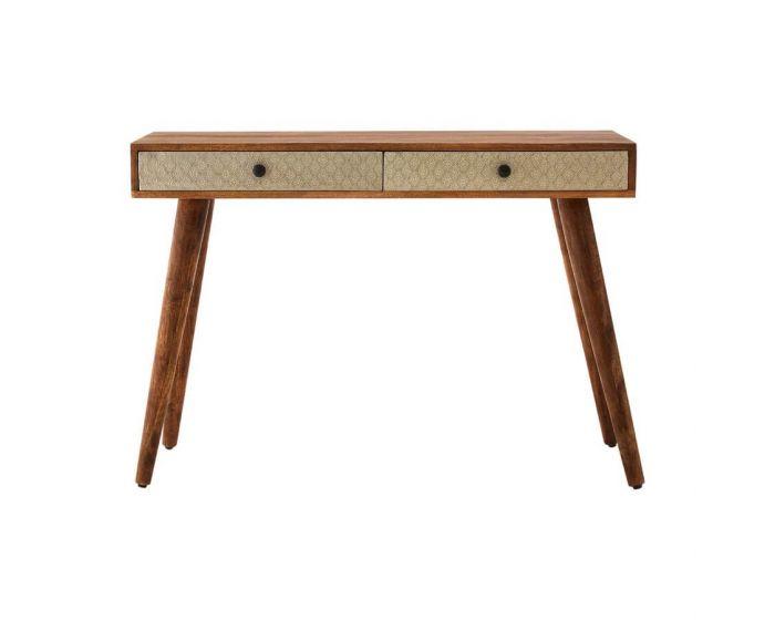 BoVo Mango Wood Console Table