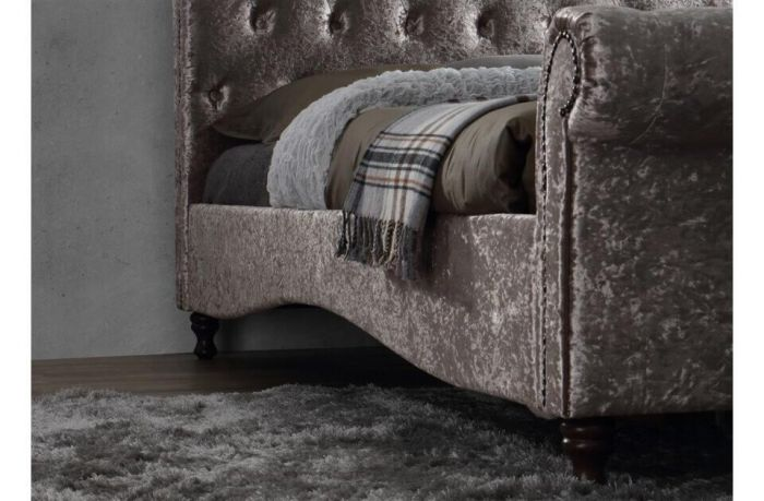 Bournemouth Oyster Upholstered Bed Frames