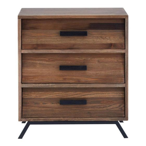 Bronx Industrial 3 Drawer Chest