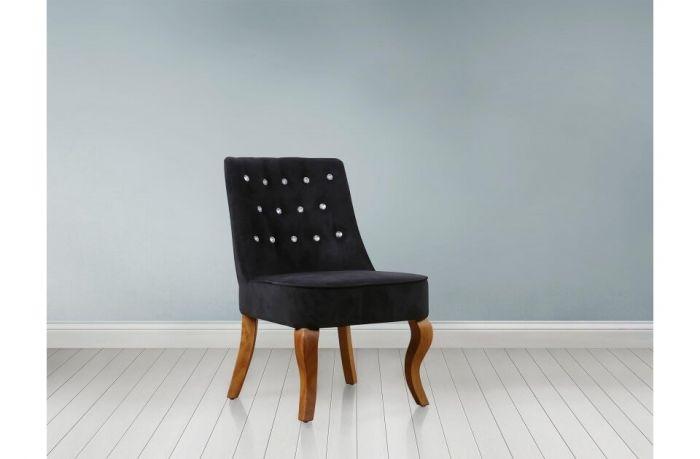 Chloe Crushed Velvet Chairs