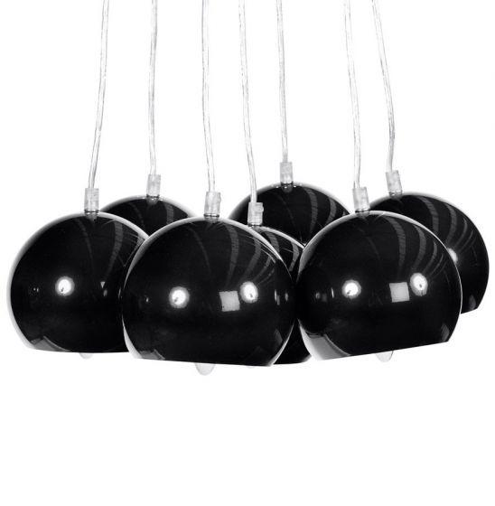 Black Grouped Ceiling Light