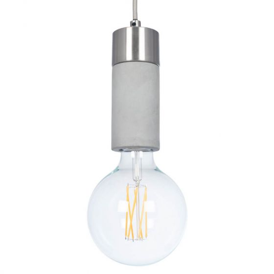 Concrete Bulb Holder Pendant