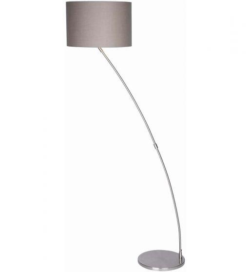 Cristina Curved Chrome Floor Lamp