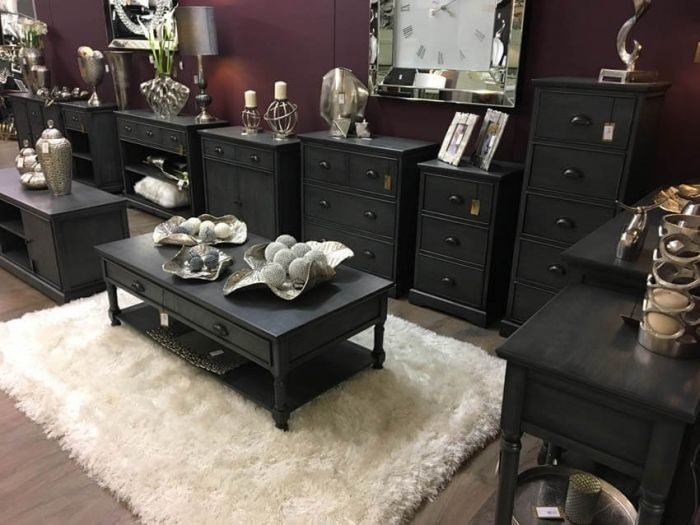Delta Grey Chest of Drawers