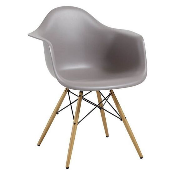 Eleanor Designer Style Armchair - Grey