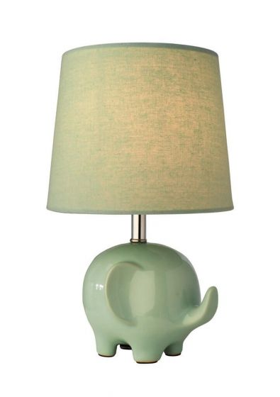 Ellie Table Lamp Green