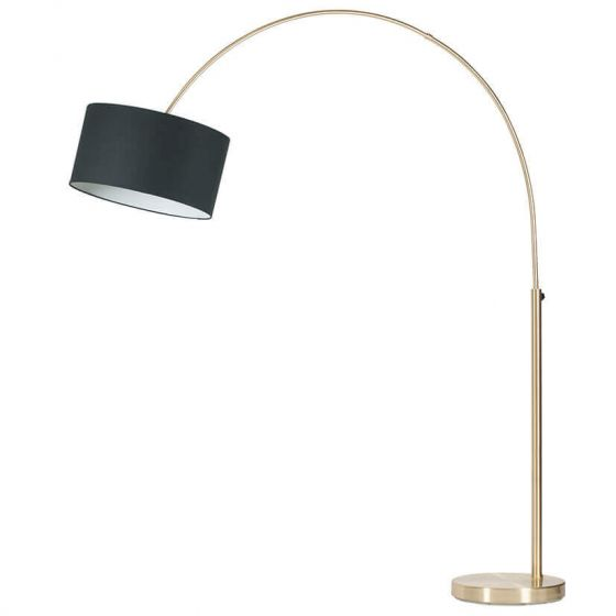 Farrington Brass Arc Floor Lamp