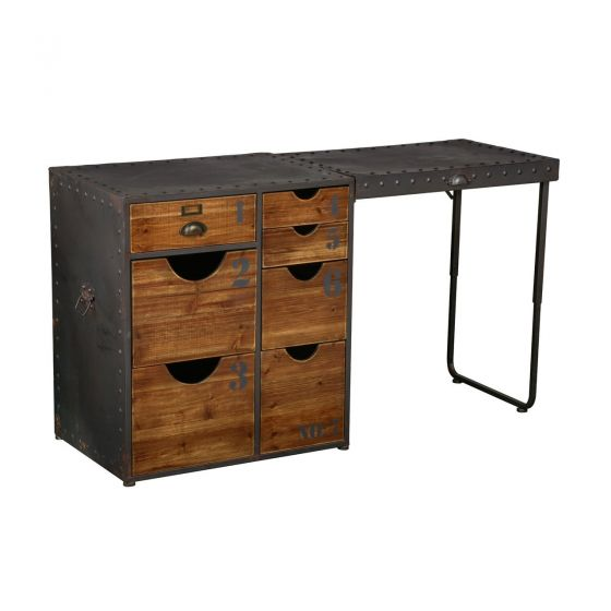 Foundry Desk With Drawers
