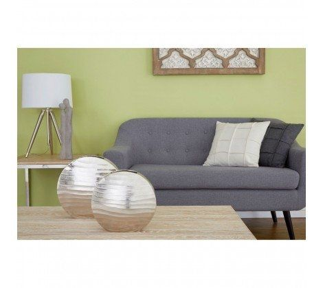 Funen Fabric Sofa - Grey