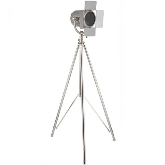 Greta Tripod Film Floor Lamp