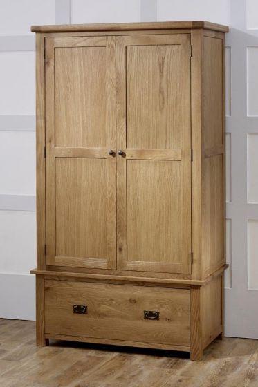 Guarlford 2 Door 1 Drawer Wardrobe