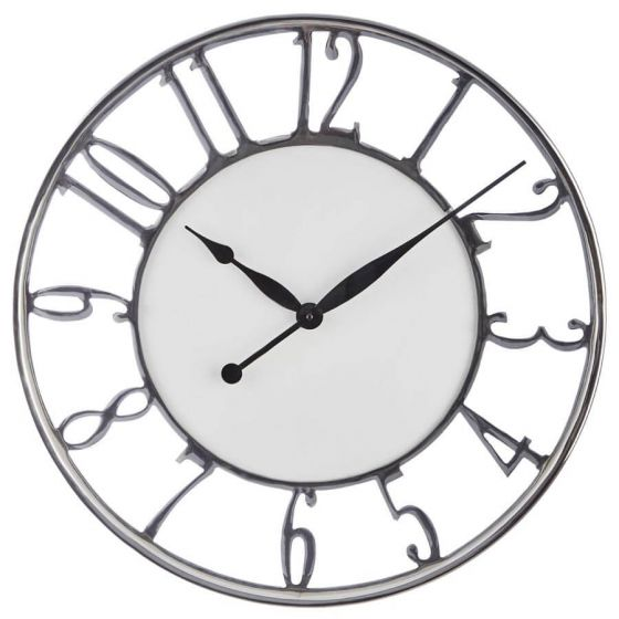 Hampshire Aluminium Wall Clock