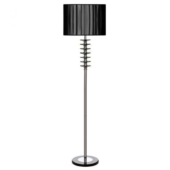 Hoop Crystal Floor Lamp
