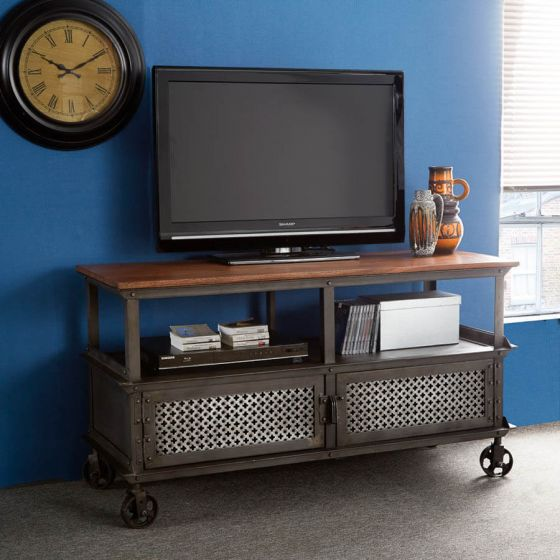 Industrial Eco Friendly TV Unit on Wheels