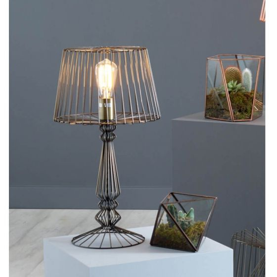 Industrial Style Distressed Table Lamps