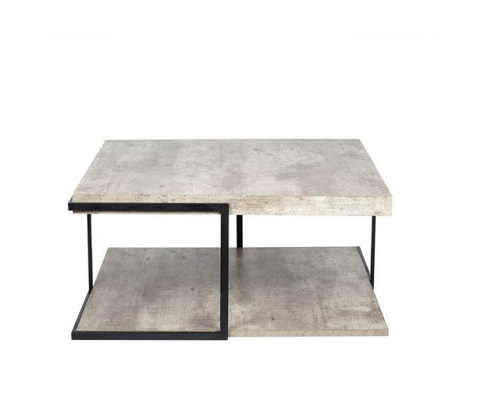 Malmo Concrete Effect Coffee Table
