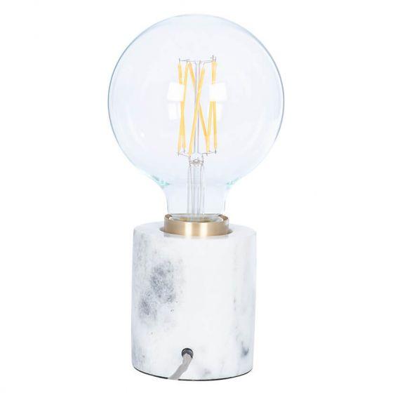 Marble Bulb Holder Table Lamp