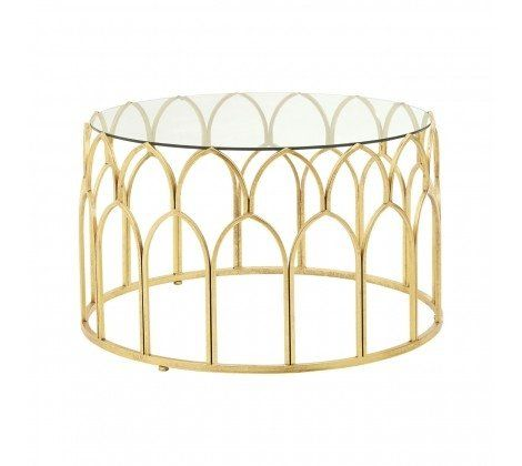 Merlin Gold Leaf Coffee Table