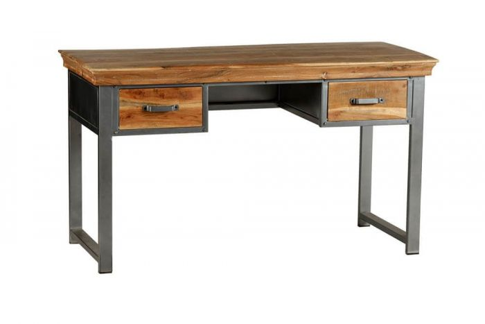 Metro Industrial 2 Drawer Home Desk