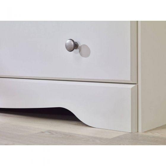 Milly 3 Drawer Bedside Cabinet